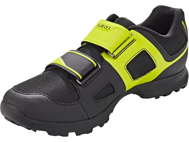 Giro Berm Shoes Men black/citron green